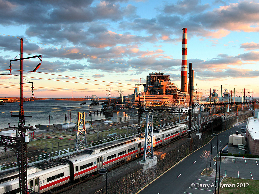 Power plant in Connecticut- photograph by Barry Hyman